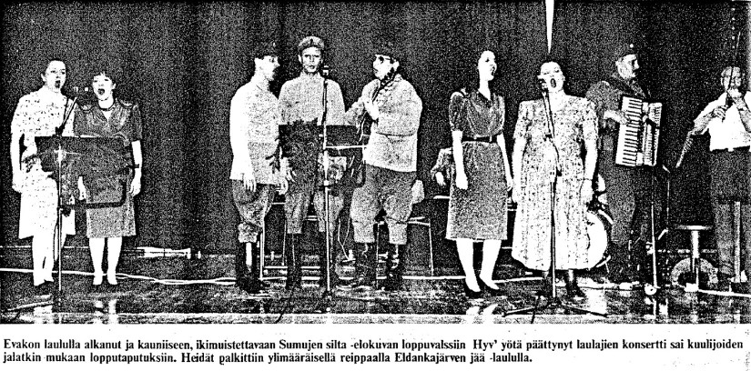 Sota-ajan laulut
